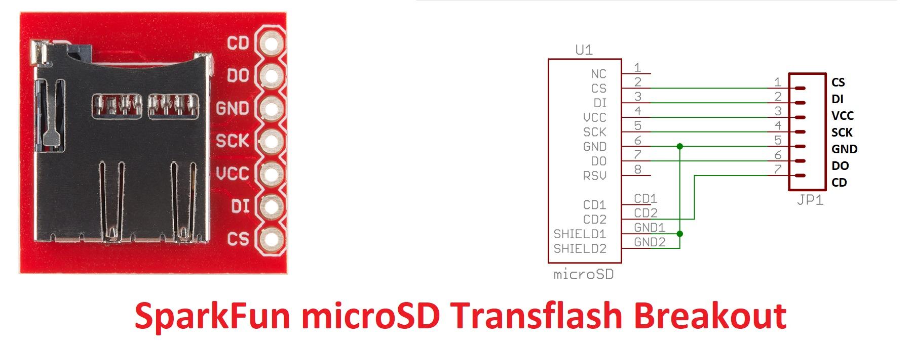 SD Card Sparkfun - ESPrtk ESP32 NTRIP Bluetooth SD Card MQTT Ethernet